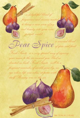 PEAR SPICE - WILLOWBROOK SCENTED SACHET